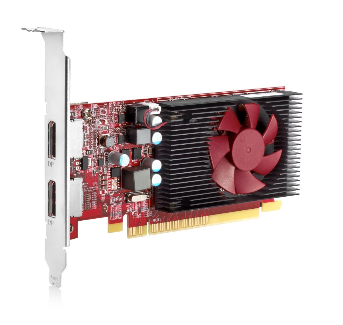 HP AMD Radeon R7 430 2GB LP 2DP PCIe x16 GFX