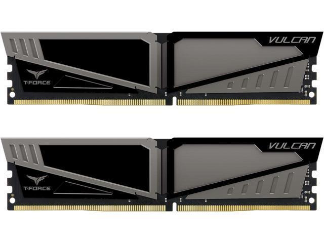 Team Group Vulcan DDR4 16GB (2x8GB) 2666MHz CL15 1.2V XMP 2.0 šedá