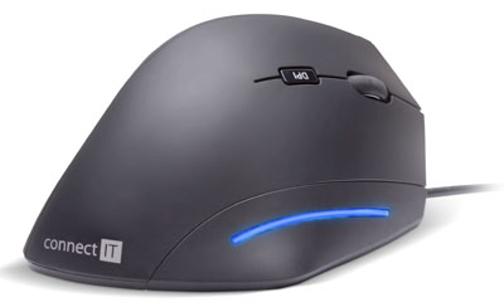 CONNECT IT FOR HEALTH ergonomická vertikální myš, USB, drátová