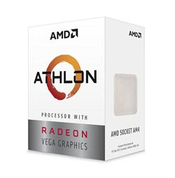 AMD Athlon 200GE (2core,3.2GHz.5MB, socket AM4,35W) Radeon Vega Graphics, Box