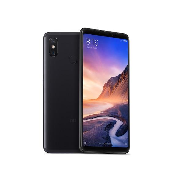 Xiaomi Mi Max 3 Black/6,9´´ FullHD+/1,8GHz OC/4GB/64GB/SD/2xSIM/12+5MPx/5500mAh