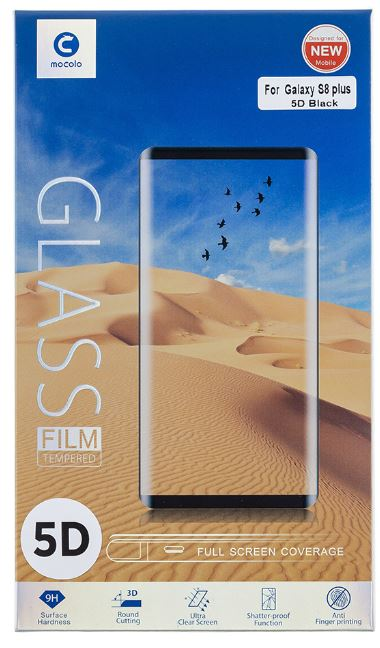 Mocolo 5D Tvrzené Sklo Black pro Samsung J530 Galaxy J5 2017
