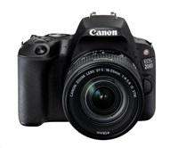 Canon EOS 200D zrcadlovka - tělo (černé) + 18-55 IS STM