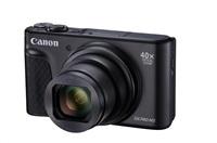 Canon PowerShot SX740 HS, 20.3Mpix, 40x zoom, WiFi, 4K video - černý