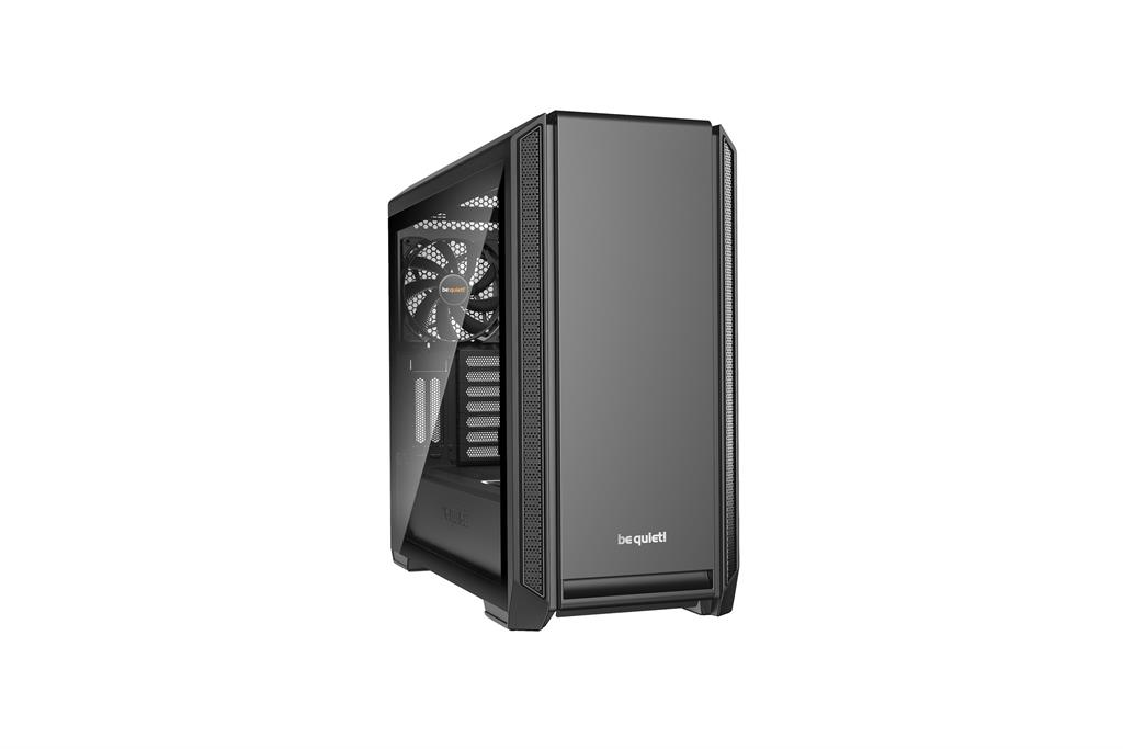 be quiet! Silent Base 601, window, black, ATX, micro-ATX, mini-ITX case