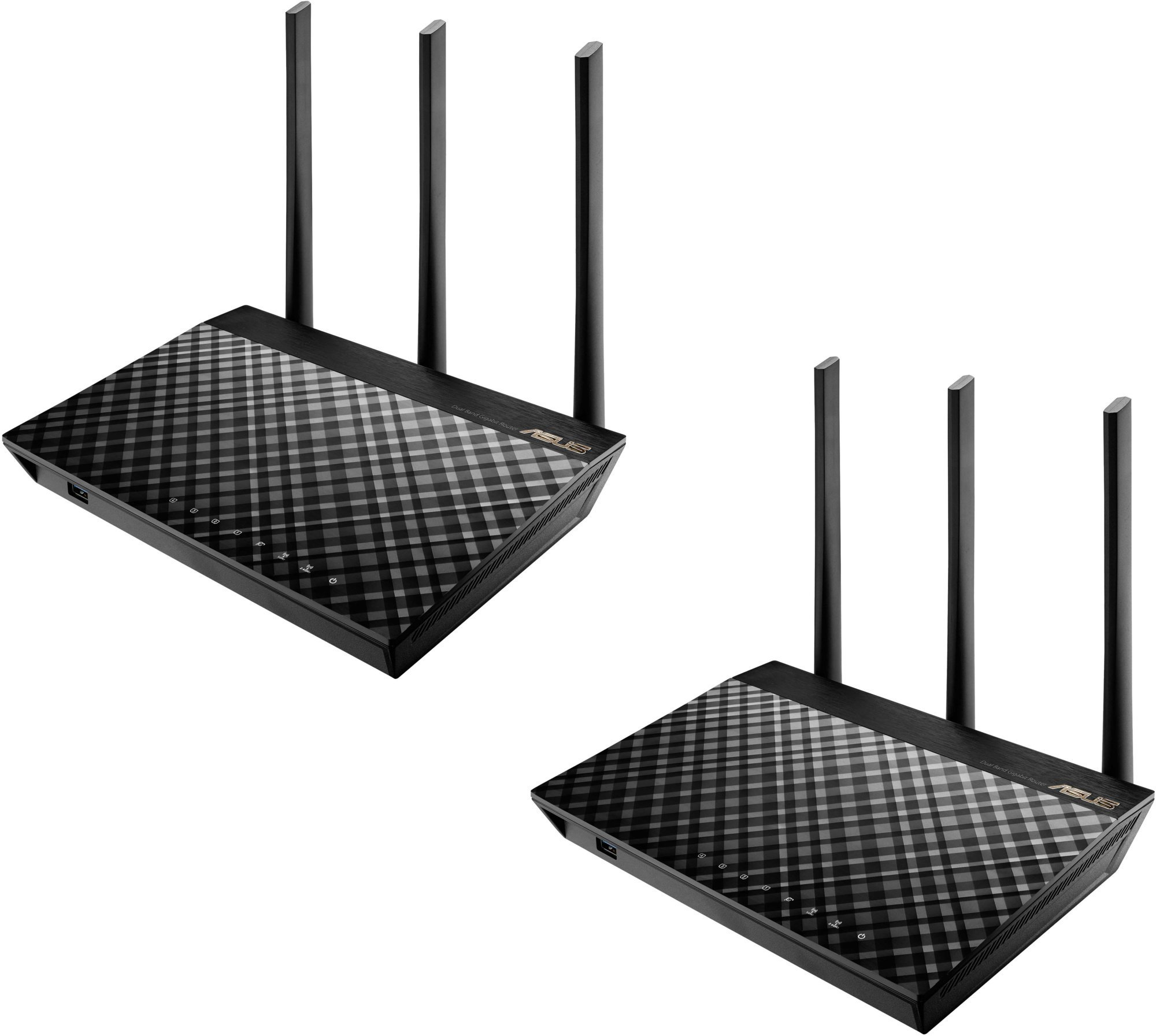 ASUS Wireless AC1900 Gigabit Dual-Band Router RT-AC67U (2-PK)