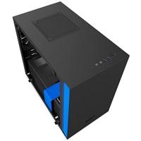 NZXT PC skříň H200i černo/modrá