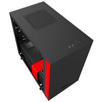NZXT PC skříň H200i černo/červená