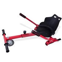 GOCLEVER City Board KARTING KIT - vozík pro hoverboard, červená