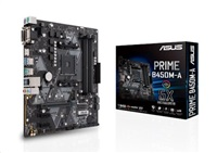 ASUS MB Sc AM4 PRIME B450M-A, AMD B450, 4xDDR4, VGA, mATX