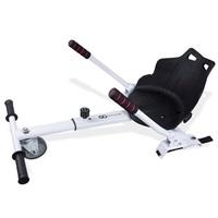 GOCLEVER City Board KARTING KIT - vozík pro hoverboard, bílá