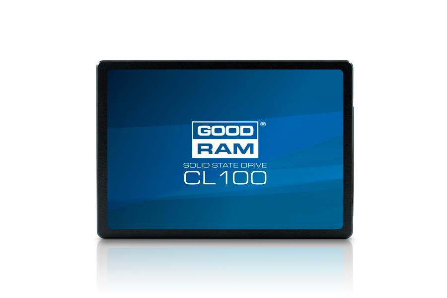 GOODRAM SSD CL100 240GB 2.5'' SATA3, 510/400 MB/s, 7mm