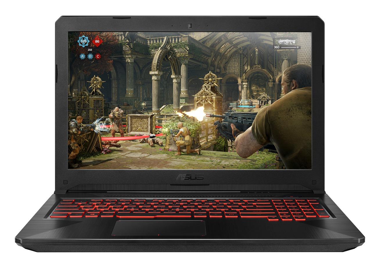 """ASUS TUF Gaming FX504GM - 15,6""""/i7-8750H/256SSD+1TB/16G/GTX1060/W10 černý"""