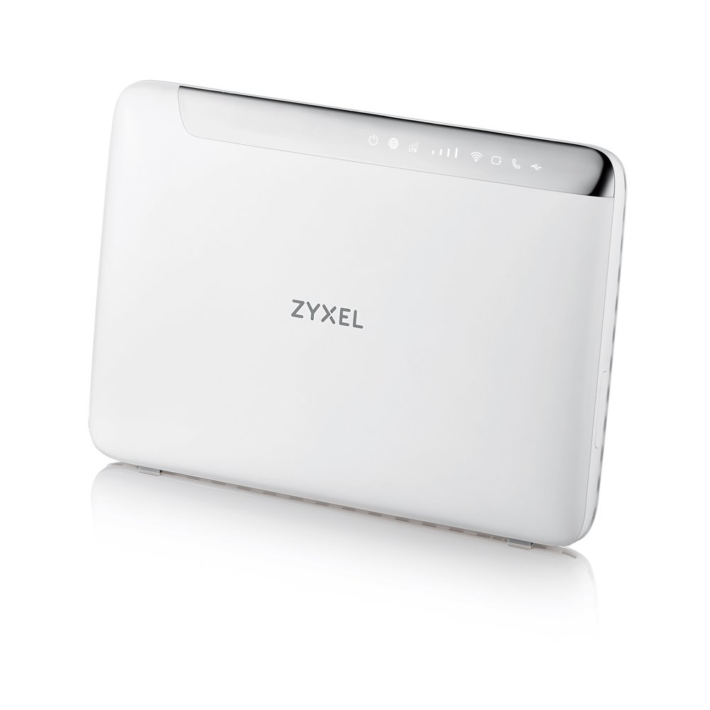 Zyxel LTE5366, 4G LTE-A 802.11ac WiFi Router, 300Mbps LTE-A, 4GbE LAN, Dual-band AC2100 MU-MIMO