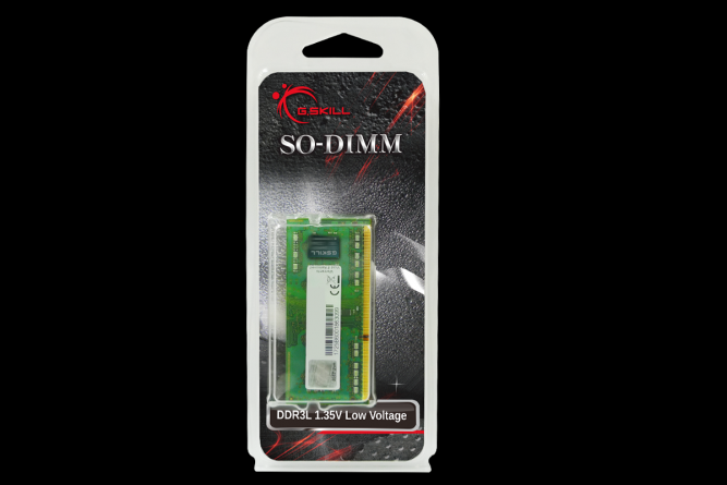 G.Skill DDR3L 4GB 1333MHz CL9 SO-DIMM 1.35V