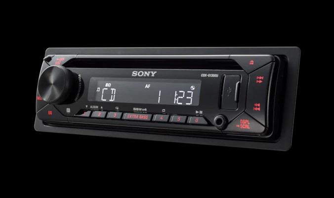SONY CDX-G1300U CD přehrávač se vstupem USB RED