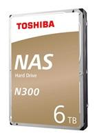 "TOSHIBA HDD N300 NAS 6TB, SATA III, 7200 rpm, 128MB cache, 3,5"""