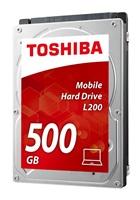 """TOSHIBA HDD L200 500GB, CMR, SATA III, 5400 rpm, 8MB cache, 2,5"""", 9,5mm, BULK"""