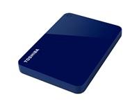 "TOSHIBA HDD CANVIO ADVANCE 1TB, 2,5"", USB 3.0, modrý"