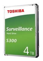 Internal HDDToshiba S300, 3.5'', 4TB, SATA/600, 128MB cache