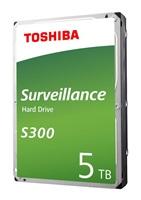 Toshiba S300 HDD 3.5'', 5TB, SATA/600, 128MB cache