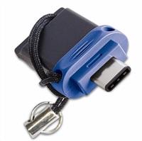 VERBATIM FLASH Store 'n' Go Dual Drive USB 3.0/USB C 32GB blue