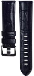 Samsung Braloba Aligator kožený řemínek Galaxy Watch Black