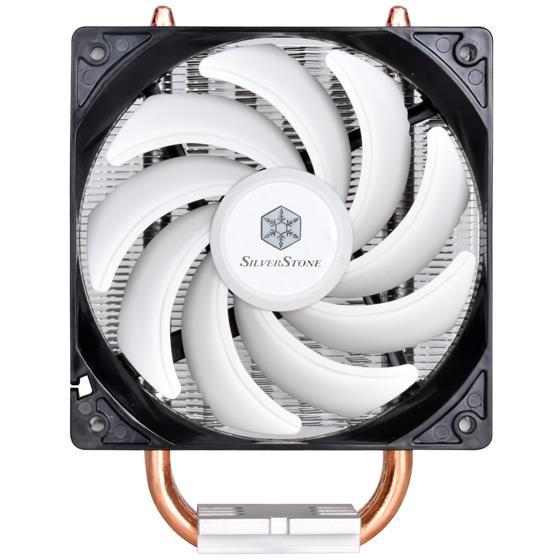 Silverstone Argon CPU cooler SST-AR01-V2.1 120mm PWM, Intel/AMD, AM4 Ready