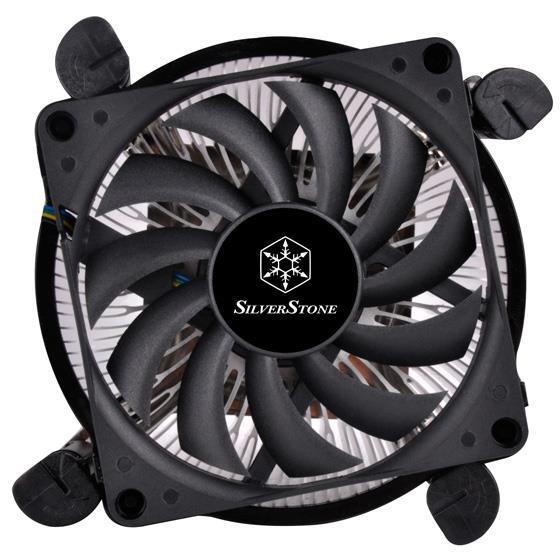 Silverstone Nitrogon CPU cooler SST-NT08-115XP Slim 80mm PWM, Low Profile, Intel