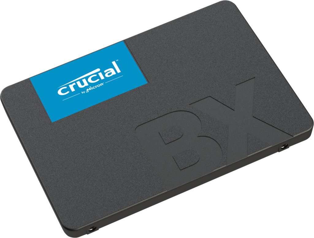 Crucial SSD BX500 480GB, 3D NAND, SATA III 6 Gb/s, 2.5-inch