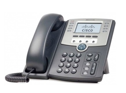 Cisco SPA509G IP Phone, 12 Voice Lines, 2x 10/100 Ports, High-Resolution Graphical Display, PoE Support REFRESH