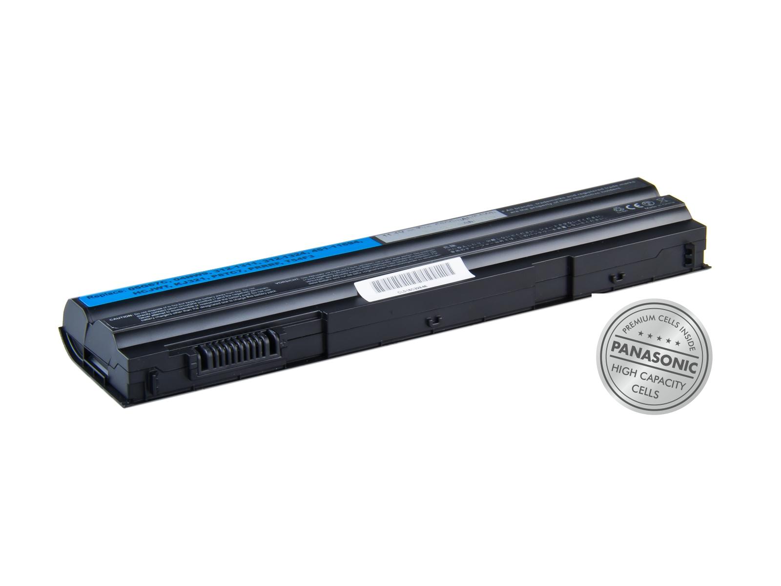 Baterie AVACOM NODE-E20N-P29 pro Dell Latitude E5420, E5530, Inspiron 15R, Li-Ion 11,1V 5800mAh