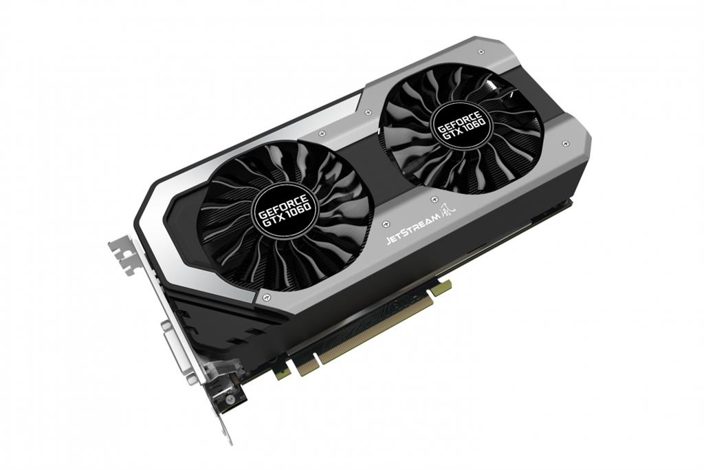 PALIT GeForce GTX 1060 JetStream, 6GB GDDR5 (192 Bit), HDMI, DVI, 3xDP