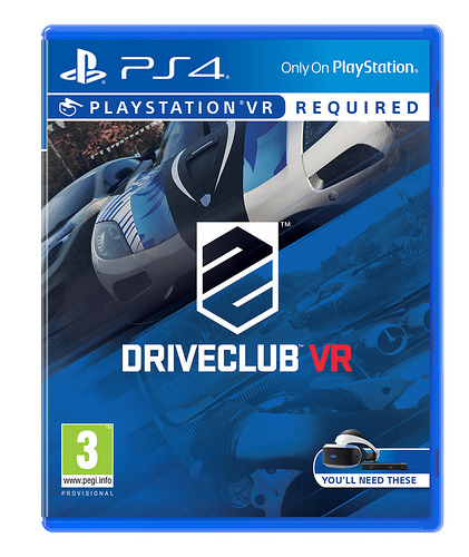 SONY PS4 hra DriveClub VR