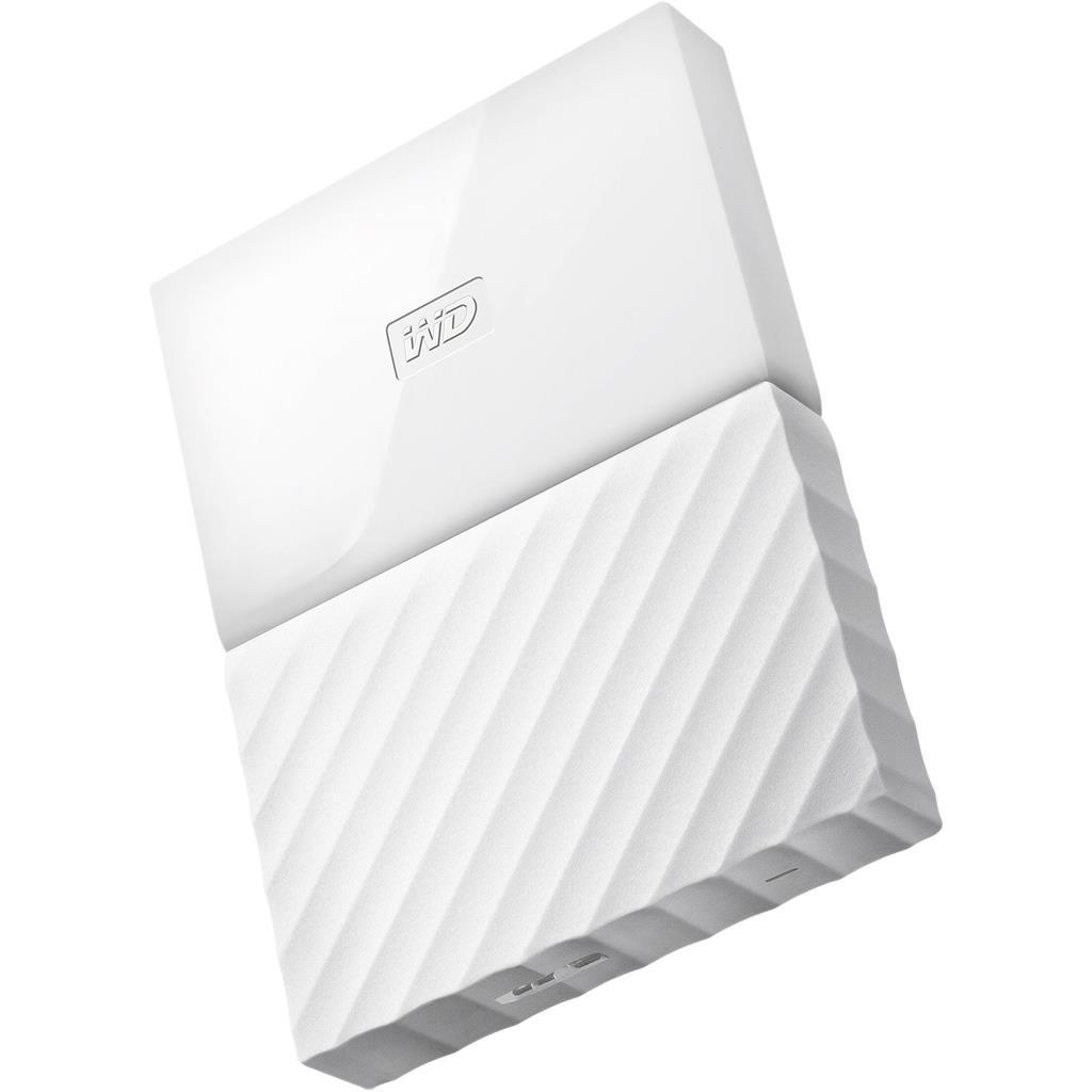 WD My Passport 2.5'' externí HDD 3TB, USB 3.0, bílý