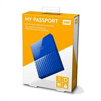 "Western Digital My Passport 2TB, 2,5"", USB3.0, WDBYFT0020"