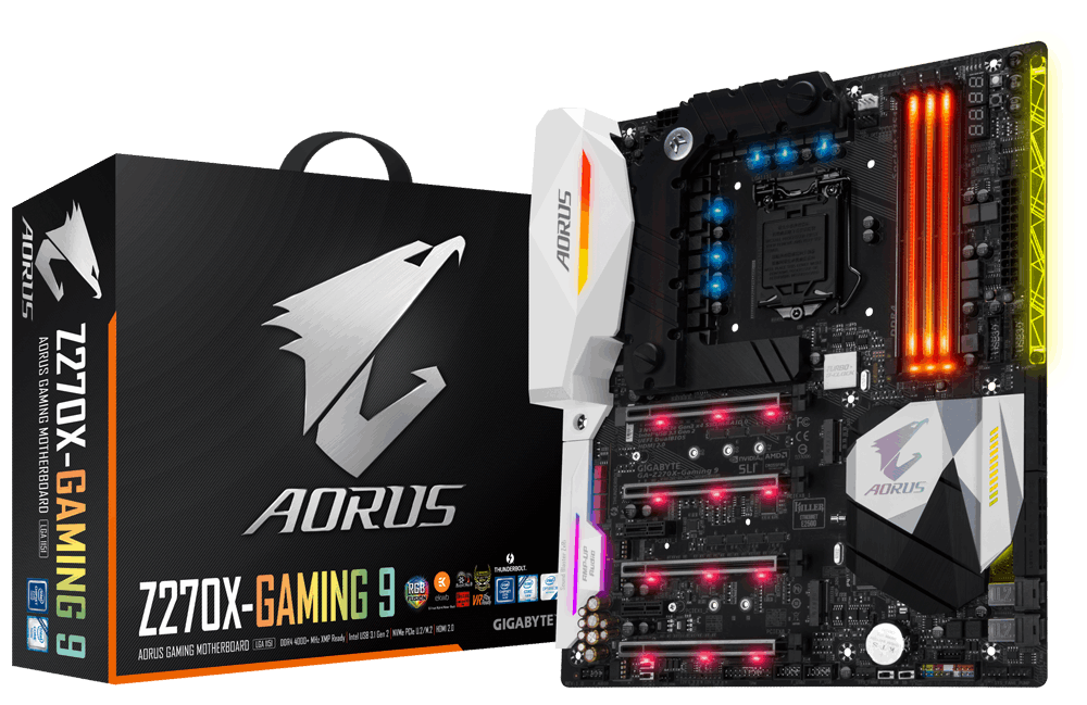 Gigabyte GA-Z270X-Gaming 9, Z270, DDR4, HDMI 2.0,DP, USB 3.1