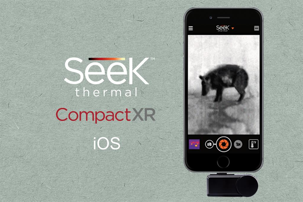 SEEK THERMAL Compact XR iOS termokamera pro iPhone/iPod