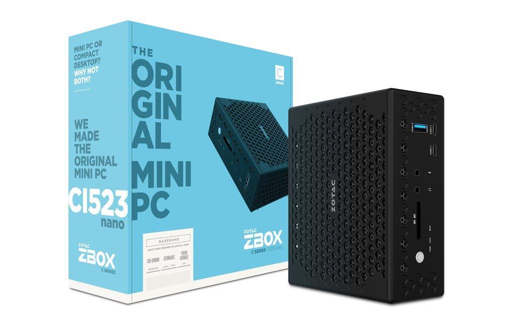 ZOTAC ZBOX CI549 NANO, i5-7300U, 2x DDR4-2133, SATA3, TBT 3, HDMI