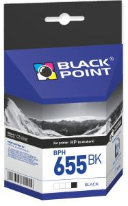 Ink cartridge Black Point BPH655BK   black   16 ml   HP CZ109AE