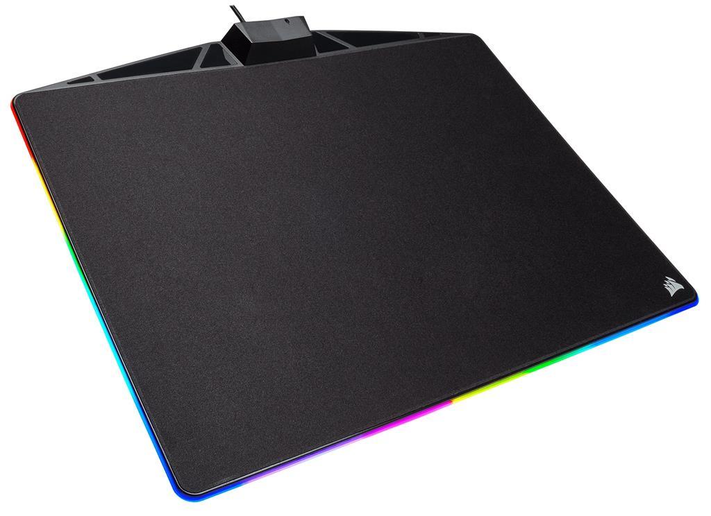 Corsair herní podložka pod myš MM800 RGB POLARIS Cloth Edition (350x260x5)