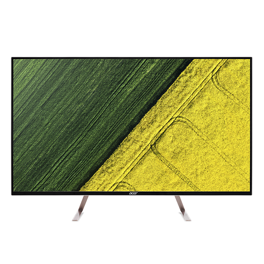 """Acer LCD ET430Kwmiippx 43"""" IPS LED/3840x2160/100M:1/5ms/350nits/2xHDMI 2.0, miniDP, DP out/repro/Silver"""
