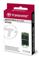 TRANSCEND MTS400S 512GB SSD disk M.2, 2242 SATA III 6Gb/s (MLC)