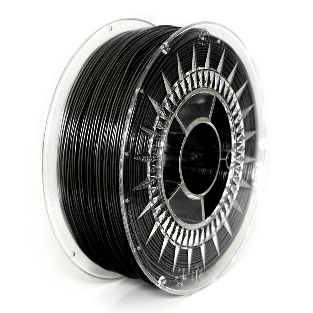 Filament DEVIL DESIGN / PLA / BLACK / 1,75 mm / 2 kg.