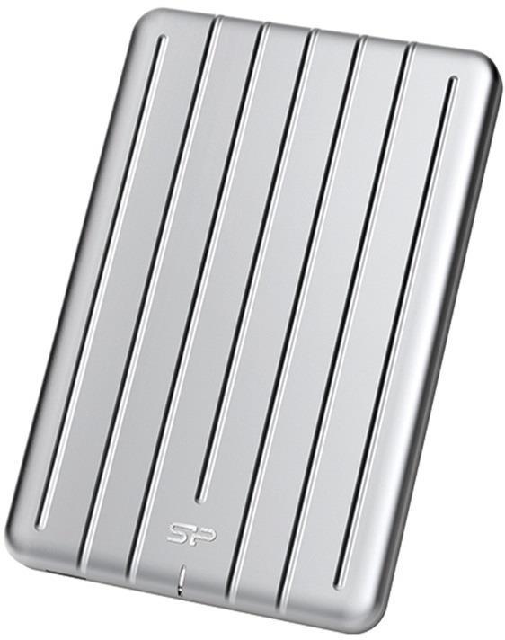 Silicon Power externí HDD Armor A75 2.5'' 2TB USB 3.1, nárazu odolný, Stříbrná