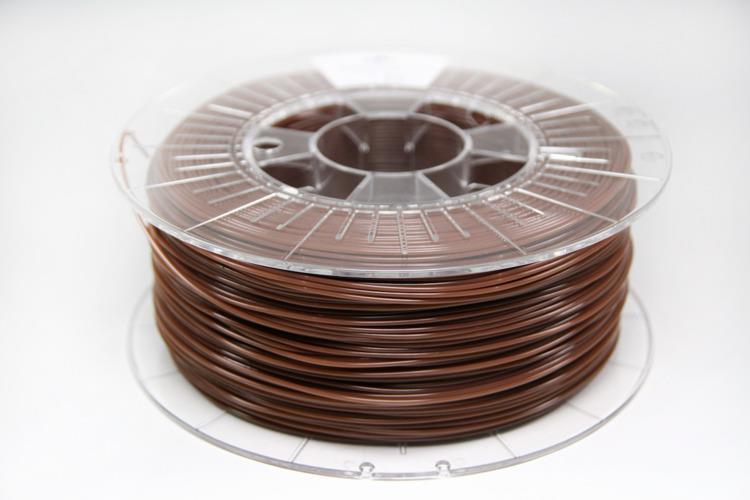 Filament SPECTRUM / PLA / CHOCOLATE BROWN / 1,75 mm / 1 kg