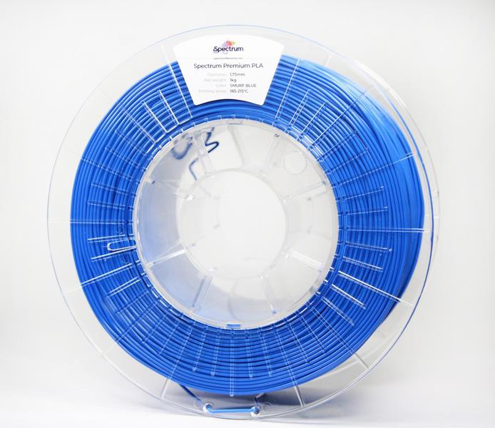 Filament SPECTRUM / PLA / PACIFIC BLUE / 1,75 mm / 1 kg