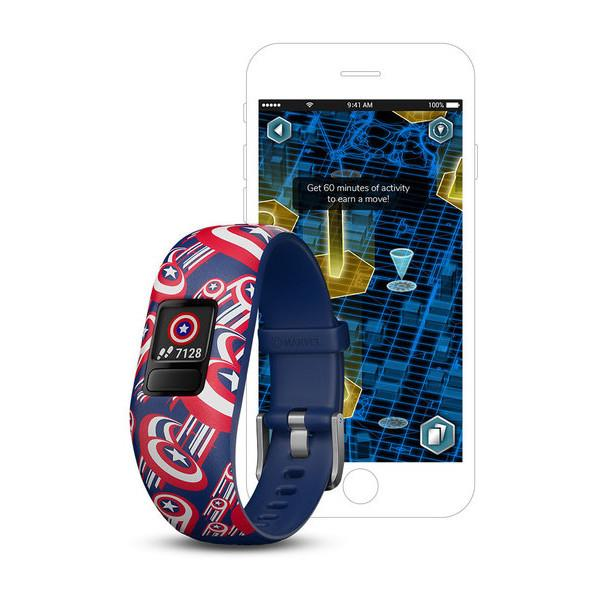 Garmin Vivofit jr. 2 Marvel (Captain America)
