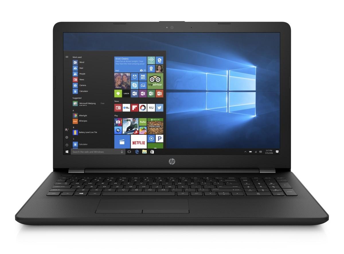 "NTB HP 15-ra041nc 15.6"" AG SVA HD WLED, Intel Celeron N3060 dual,4GB DDR3L,500GB/5400,DVDRW,UMA,Win10 - Jet Black"
