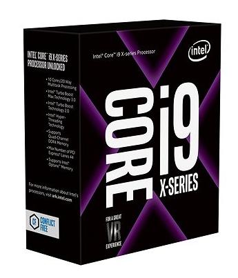 Intel Core i9-7920X, Dodeca Core, 2.90GHz, 16.5MB, LGA2066, 14nm, 160W, TRAY